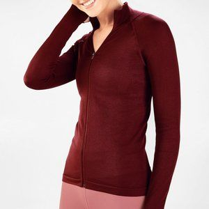 Fabletics Luciana Ribbed Seamless L/S Zip Up